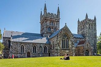 Wimborne Minster - Image: Wimborne Minster June 2015