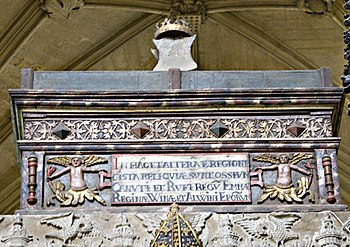 Tomb of King Canute and his wife Emma