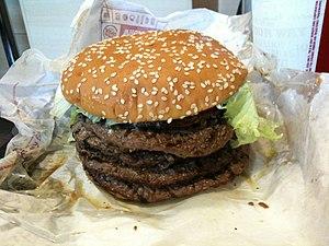 """Japanska Burger Kings """"Windows 7 Whopper"""", med sju biffar, var en ganska dålig idé. Hjälp oss att upptäcka vad vi gjort fel! Anmäl buggar, konstigheter, eller önska nya funktioner här."""