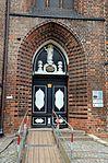 Wismar, St. Nikolai, Portal.JPG