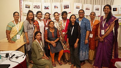 Women participants at Wikimedia Education SAARC Conference 2019.jpg