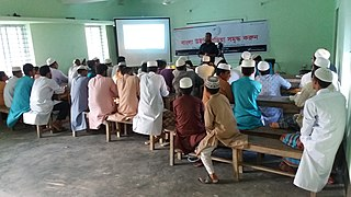 Workshopon Wikipedia in madrasa 02.jpg