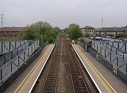 Worle railway station MMB 17.jpg