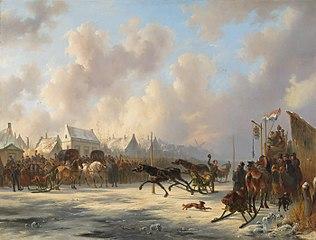 Een harddraverij te Zaandam