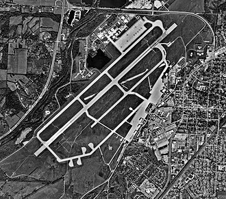 Wright-Patterson Air Force Base - WPAFB northern section in 2000