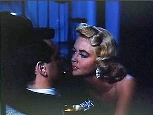 Written on the Wind - Dorothy Malone attempts to seduce Rock Hudson in this scene from Written on the Wind.