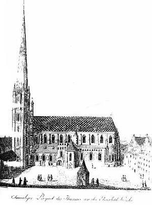 St. Elizabeth's Church, Wrocław - Image: Wroclaw sw Elzbieta XV