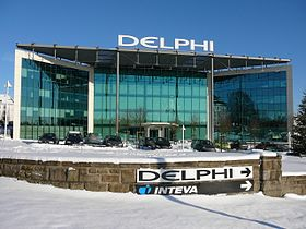 illustration de Delphi Corporation