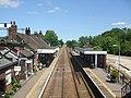 Wymondham station from the footbridge - geograph.org.uk - 1335997.jpg
