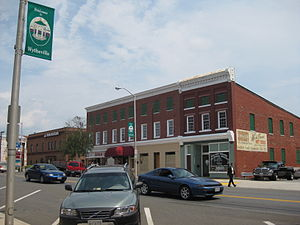 Wytheville, Virginia - Main Street in Wytheville