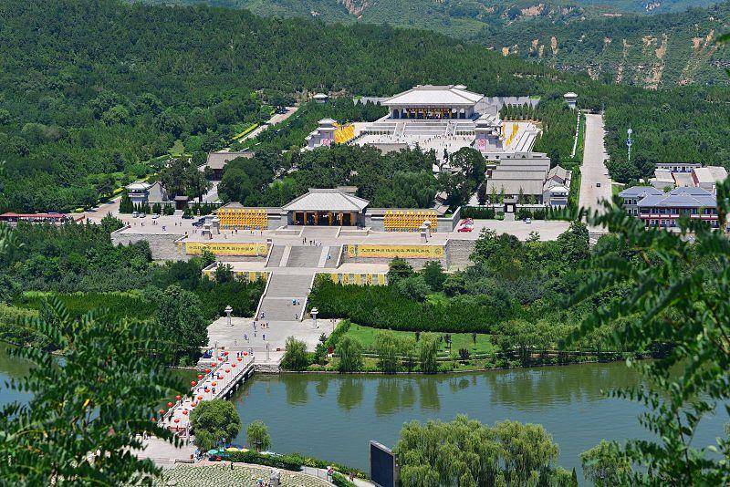 Xuanyuan Temple in Yan%27an, Shaanxi.jpg
