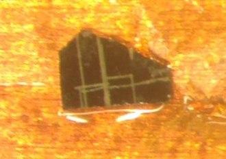 Yttrium barium copper oxide - Image: YBCO high temperature superconductor