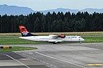 YU-ALO ATR72-202 Air Serbia Ljubljana 08-07-2017 (35990179492).jpg