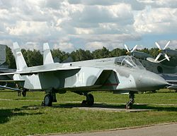 Yakovlev Yak-141 at Central Air Force museum (4).jpg