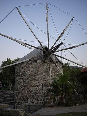 Yalıkavak - Image: Yalikavak Windmill
