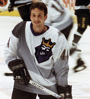 Yanic Perreault - Perreault as a member of the Los Angeles Kings