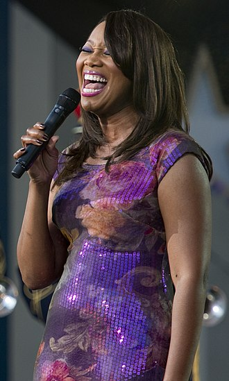 Yolanda Adams - Yolanda Adams performing at the National Memorial Day Concert in May 2010.