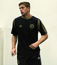 Zac MacMath at Preseason Training for the Philadelphia Union, Jan 2011.jpg