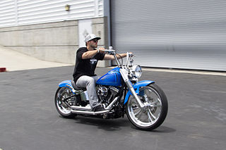 Zach Ness American motorcycle builder