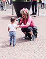 Zangeres betrekt kind bij haar optreden Spijkenisse.jpg