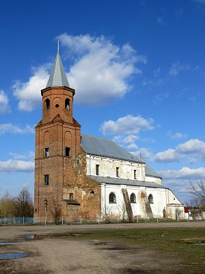 Zaturtsi Lokachynskyi Volynska-Holy Trinity church-south-west view-2015.jpg