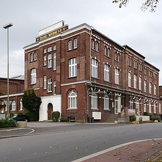 """Werne - A repurposed building of the former """"Zeche Werne"""""""