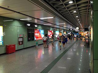 Zhongshanba station Guangzhou Metro station