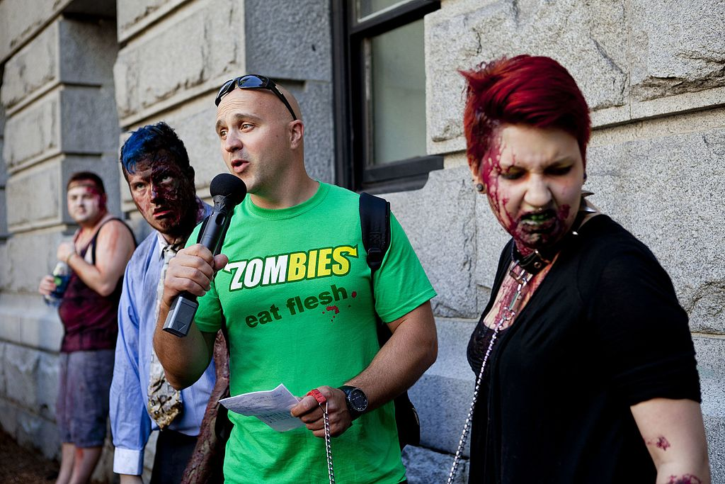 Image result for flesh eating zombies
