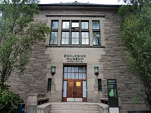 Natural History Museum at the University of Oslo - Image: Zoology Museum 1 Oslo, Norway