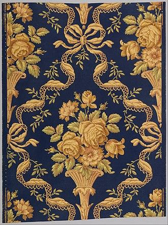 Zuber & Cie - Image: Zuber & Cie Floral Brocade Google Art Project