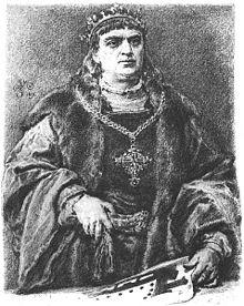 Zikmund I. Starý na obrazu Jana Matejky