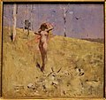 """""""The Spirit of the Drought"""" by Arthur Streeton - National Gallery of Australia - by Joy of Museums.jpg"""