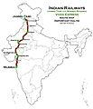 (Jammu Tawi - Mumbai) Vivek Express route map.jpg