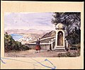 À Mustapha. Jardin de gouvernement . Motiv från Alger. Akvarell av Fritz von Dardel - Nordiska museet - NMA.0037614.jpg