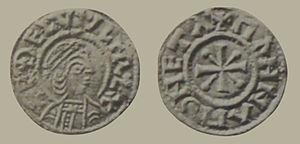 Æthelwulf - Image: Æthelwulf penny
