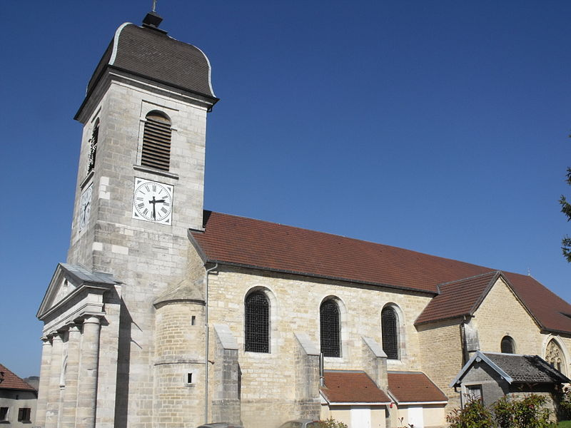Église Saint-Martin de Sancey-l'Église, Sancey-le-Grand, Doubs, France