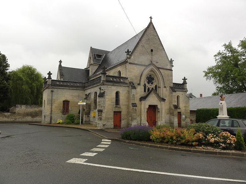 Épagny (Aisne) église