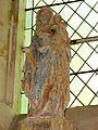 Épiais-Rhus (95), église Notre-Dame, croisillon sud, Vierge à l'Enfant, vers 1400 3.JPG