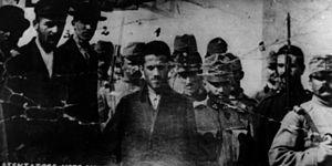 Nedeljko Čabrinović - Čabrinović, Ilić and Princip taken to court.