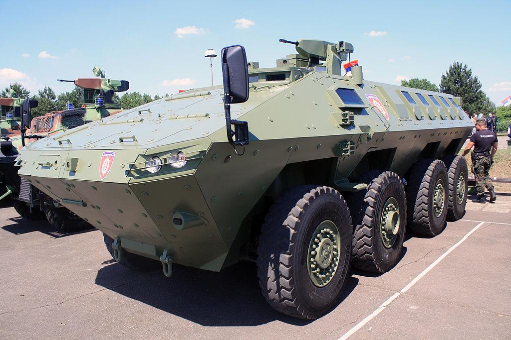 """Veículo militar multifunção 8 × 8 """"Lazar II"""" da Yugoimport-SDPR – Sérvia"""