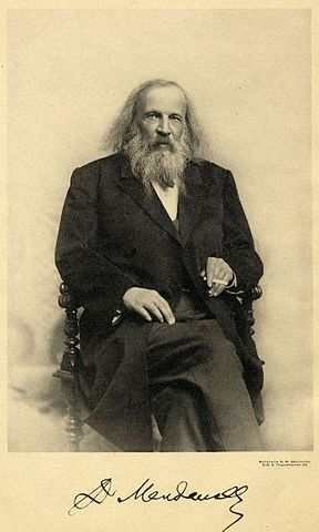 Фотопортрет Д. И. Менделеева