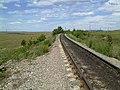 Железная дорога к руднику Малый Куйбас - panoramio.jpg
