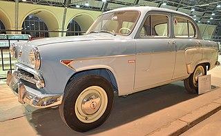 Moskvitch 402 soviet car