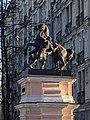 Пилоны ворот с конными скульптурными группами. Левая группа (2).jpg