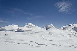 Pelister National Park - Snowdrifts in the Pelister National Park