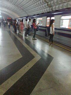 Beruniy (Tashkent Metro) Tashkent Metro Station