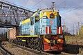 ТЭМ18Д-160, Россия, Тверская область, станция Бологое-Московское (Trainpix 115116).jpg