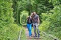 Тунель кохання.Україна,Клевань,Рівнецька область.jpg