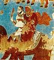 Фрагмент стенной росписи дворца на Афрасиабе. VII-VIIIв..jpg
