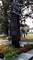Чорнухи. Пам`ятник-бюст Г.С.Сковороді-3 (меморіальна садиба).jpg